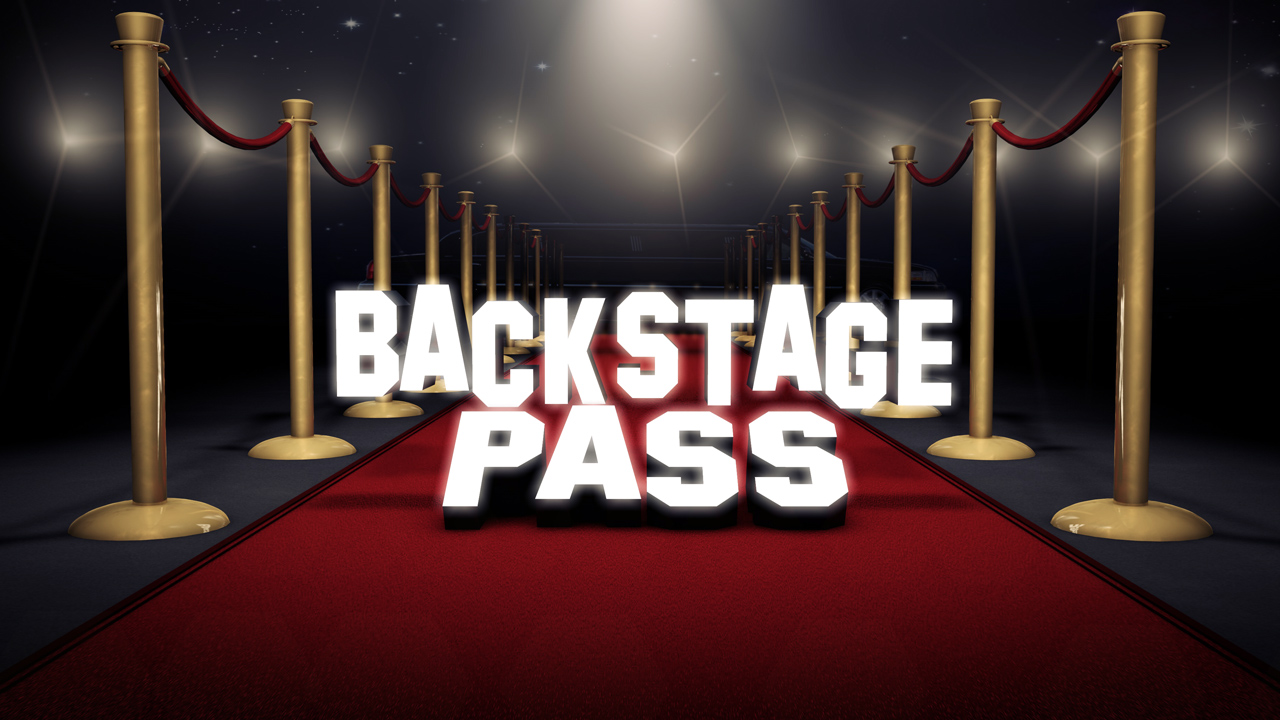 Back Stage Pass